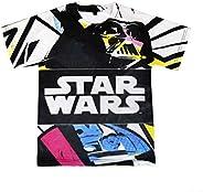 22-1984 Camiseta de algodón para niño STAR WARS de 6 a 12 año