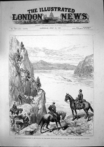 Husar-Teufel-Treppenhaus Wakatipu 1885 der Ostern-Freiwillig-Zusammenfassungs-N Z