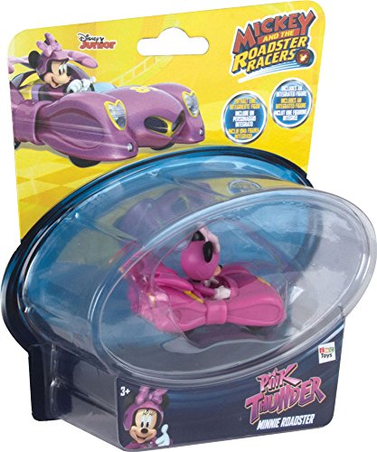 Mickey Mouse Mini Vehículos: Minnie's Pink Lightning (IMC TOYS 182851)
