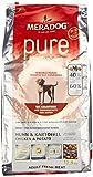 MERADOG PURE Fresh Meat Trockenfutter I Hundefutter ohne Getreide und Gluten für sensible Hunde mit Huhn und Kartoffeln I 12,5 Kg