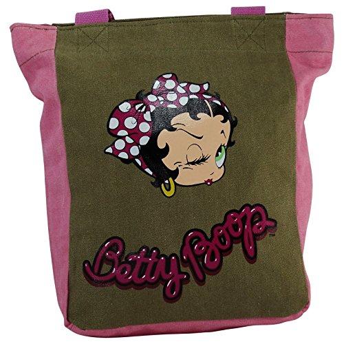 Betty Boop Foulard Sac porté main pour Femme Sac à l'épaule