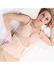 SFD/ Postparto corset cinturón vientre maternidad banda cintura una gasa atar con cesárea nacimiento en primavera y verano , m