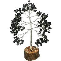 Schwarz Turmalin Stein Baum Heilung Kristalle Steine Reiki Baum Reiki Spritual Geschenk mit Rot Geschenk Tasche preisvergleich bei billige-tabletten.eu