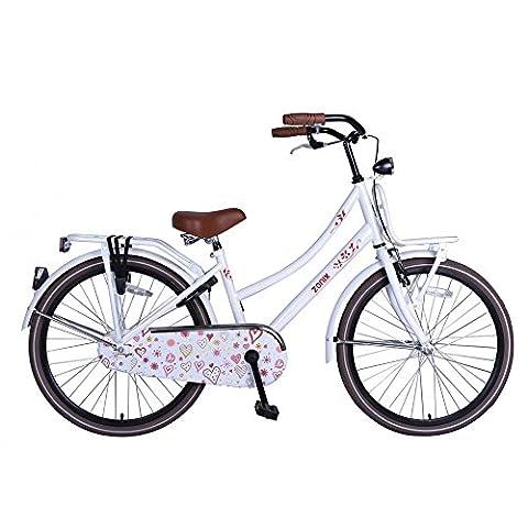 Vélo Fille Zonix Oma 24 Pouces Frein à Rétropédalage Blanc85% Assemblé