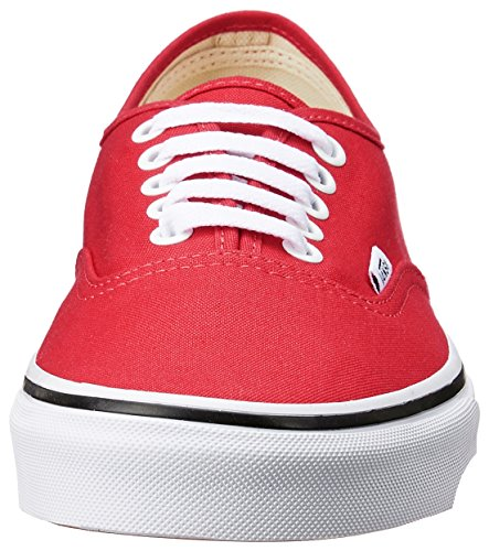 Vans Ua Authentic, Scarpe da Ginnastica Basse Donna Rosso (Strawberry Tape Red/black)