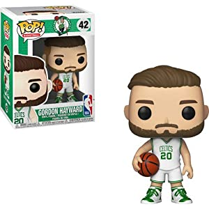 Funko Pop Gordon Hayward Boston Celtics camiseta blanca (NBA 20) Funko Pop NBA