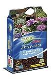 Cuxin 10 L Blumenerde für Haus und Garten ● Pflanzerde mit 100 Tage organischen Dünger
