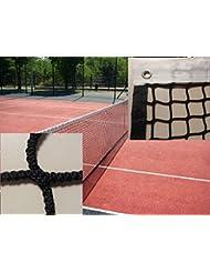 Red de tenis sin nudos 4 mm Ø con cinta en el perímetro