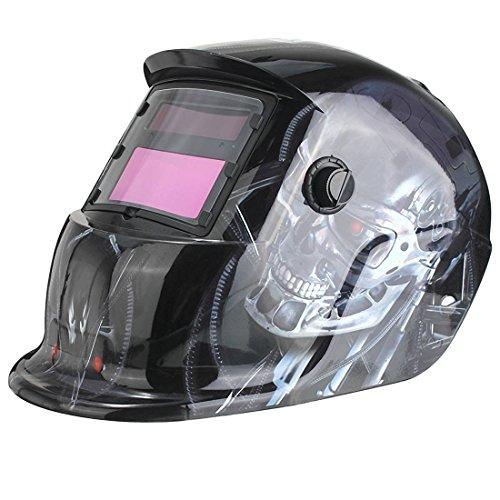 Schweisshelm - TOOGOO(R) Solar Automatik Schweisshelm Schweissmaske Automatisch Schweissschild MIG TIG ARC Schweissschirm (Terminator)