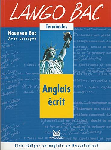 Anglais écrit, langobac
