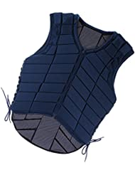 Veste Equitation Gilet de Sécurité Protection de Cavalier Adulte Protecteur du Corps