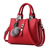 Nicole Doris 2019 new wave packet Messenger bag ladies handbag female bag  handbags for women(Claret red) · Prime DELIVERY 558d090c1b4ee