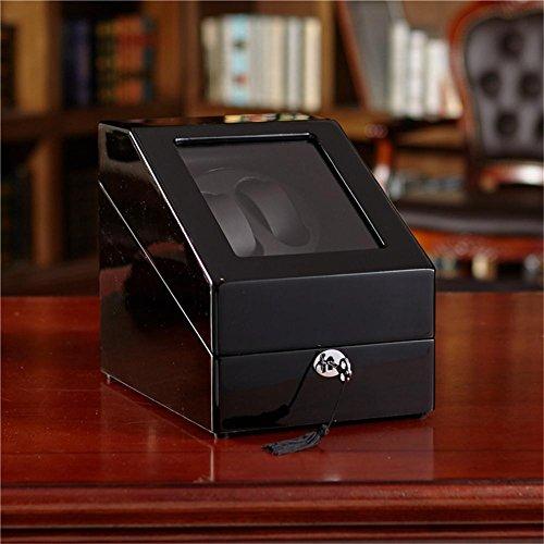 tteln Tabelle automatische Uhr Box Motor Uhr Box High-End mechanische Tabelle schütteln Tabelle Motor Box schwarz Lichtfarbe ()