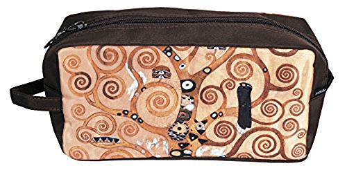 Fridolin Trousse de necessaire Trousse de Toilette Arbre de Vie de Gustav Klimt