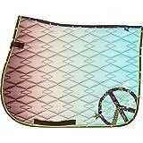 Imperial Riding VS Schabracke Etoile Baumwolle Neon-Farbe Details Sommer 2017 (Warmblut, brown)