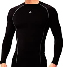 ReDesign Apparels Nylon Redesign Compression Top Full Sleeve Tights T-Shirt for Sports
