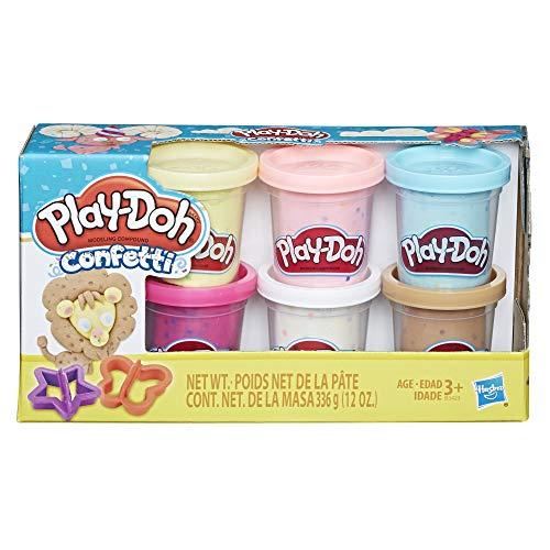 Playdoh Confetti Compound Collection, Multi Color