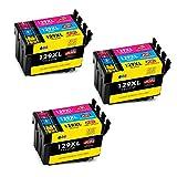 JIMIGO Ersatz für Epson T1292 T1293 T1294 Druckerpatronen Kompatibel mit Epson Workforce WF-3520, Epson Stylus SX435W SX235W SX525WD SX230 SX420W SX425W SX430W