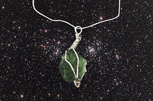 Gorgeous Moldavit Halskette–Eine atemberaubende Geheimnisvolle Stück Schmuck