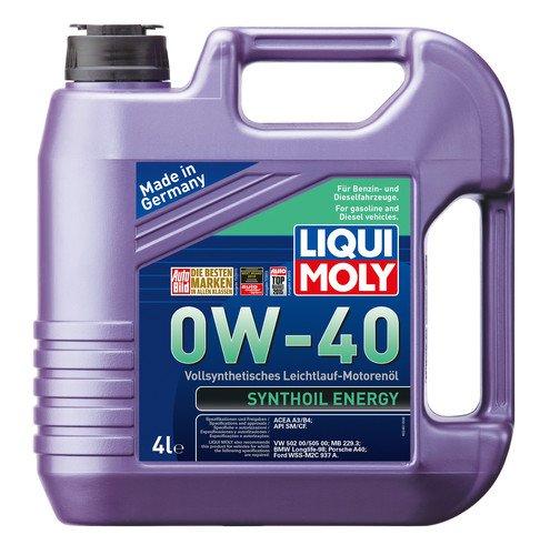 Liqui Moly Synthoil 0W-40 Petrol/Diesel Engine Oil (4 L)