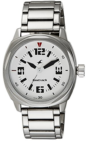 Fastrack His and Her Upgrade Analog White Dial Men's Watch - 3076SM03 image