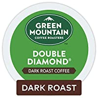 Green Mountain Coffee Roasters Double Diamond Coffee Keurig Single-Serve K-Cup Pods, Dark Roast Coffee, 72 Count (6 boxes of 12 Pods)