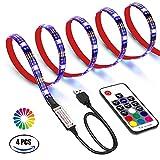 LED TV Hintergrundbeleuchtung 2M LED Streifen Beleuchtung USB LED TV