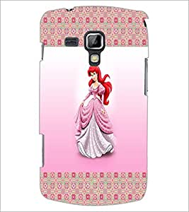 PrintDhaba Princess D-4565 Back Case Cover for SAMSUNG GALAXY S DUOS 2 S7582 (Multi-Coloured)