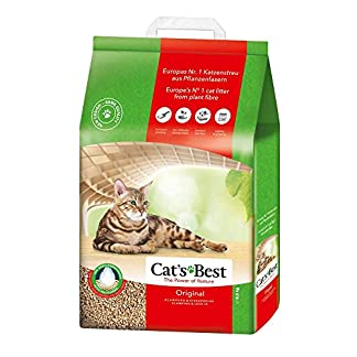 Cat's Best OkoPlus Wood Litter , 8.6 Kilogram 13