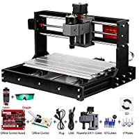 ‏‪Mainstayae 5500mw Upgrade Version CNC 3018 Pro GRBL Control DIY Mini CNC Machine 3 Axis Pcb Milling Machine Wood Router Engraver with Offline Controller with ER11 and 5mm Extension Rod‬‏