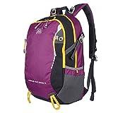 XSY 30L Trekkingrucksack Wanderrucksack Reiserucksack Rucksack Für Outdoor Camping Rücksack Violett