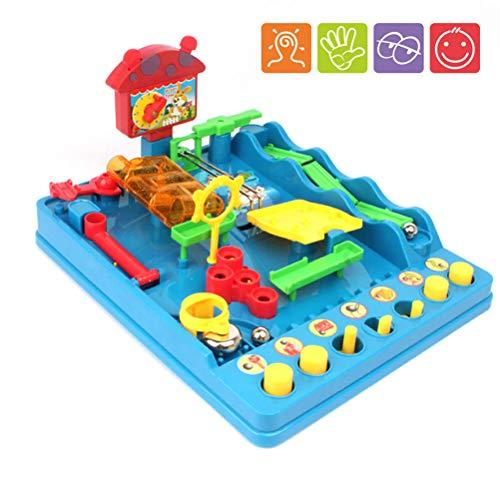 Egosy Geschicklichkeitsspiel Crazy Ball Tricky Golf für Kinder - hochwertiges Kinderspielzeug - Spieleklassiker Labyrinth Game
