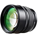 Zhongyi 85mm F1.2 Lente de distancia focal fija de 85mm apertura máxima de F1.2 sensacional Canon EF negro