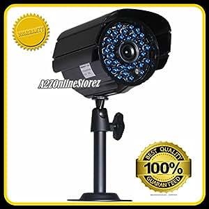 Sharp Sony Chip-48 Ir Led Weatherproof Night Vision Cctv Color Camera 600Tvl-