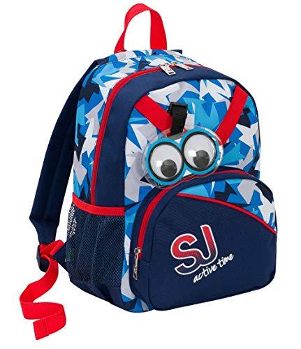 Borsa Zaino Zainetto Tempo Libero SJ Gang Freeride Backpack Rosa o Azzurra 25x36x14 cm -SJ Active Time Seven 2018