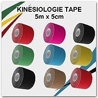 6x Kintex Kinesiologie Tape 5cmx5m Classic bei Muskelverspannungen, Verspannungen im Nacken, Schulter, LWS, Kiefer... preisvergleich bei billige-tabletten.eu