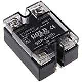 SLB Works SDP4040D 3.5-32VDC to 12-480VDC 40A Single Phase Solid State Relay Module DC to DC