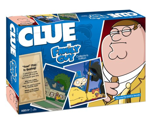 Clue Family Guy Board Game (Kostüm Nightwing)