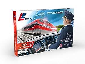 LE Toys LET13902 - Treno Frecciarossa, Rosso