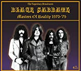 BLACK SABBATH - MASTERS OF REALITY 1970-'75: THE LEGENDARY BROADCASTS - 4 CD SET