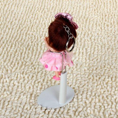 supporto Doll - TOOGOO(R) Bambola regolabile Bianco stare 5,5 - 7,8 pollici / 14 - 20 cm