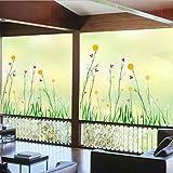 Svsnm 80 * 120 cm Dekorative Glasfenster Film Kein Kleber Undurchsichtige Aufkleber Statische Digitaldruck Für Glatte Glasschiebetür
