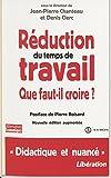Réduction du temps de travail: Que faut-il croire ? (Alternatives économiques) (French Edition)