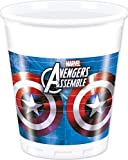Marvel Avengers Ultron Party Plastic Cups (200ml) - 8 Pack