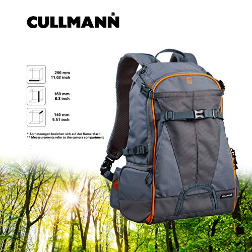 Cullmann 99441 Ultralight Rucksack sports DayPack 300, grau/orange