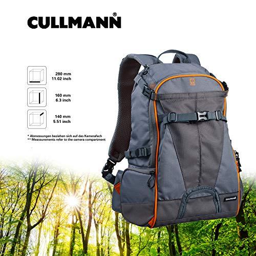 Cullmann 99441 Ultralight Rucksack sports DayPack 300, grau/orange Kamera Rucksack