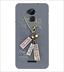 PrintDhaba Quote D-2309 Back Case Cover for COOLPAD NOTE 3 LITE (Multi-Coloured)