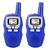 Best Niños Walkie Talkies - Virhuck 2pcs Walkie Talkies para Niños, 3 Canales Review