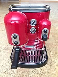KitchenAid 5kes2102EER Artisan de Machine À Expresso Rouge