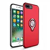 Coque iPhone 5S, SsHhUu 360 Rotation Anneau Support Voiture Magnetique Réduction de...